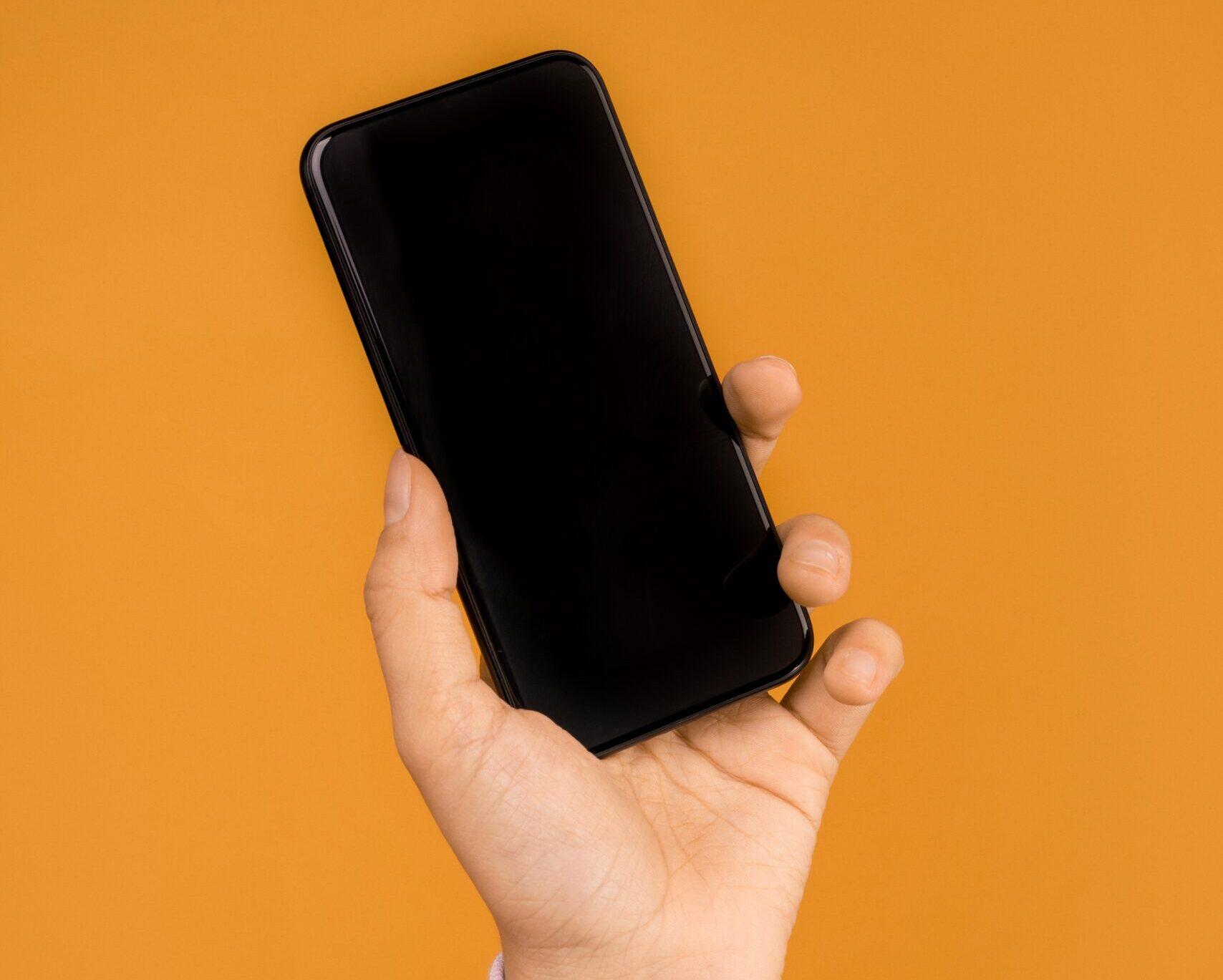 電源がはいらなくなったiPhone